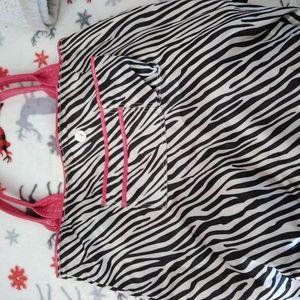 Guess Bags - Pink/ Zebraprint reversible Guess purse